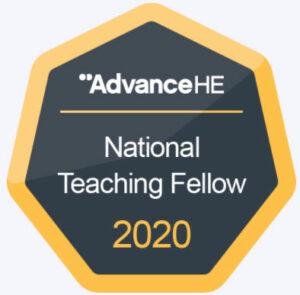 Michael Seery National Teaching Fellow Badge